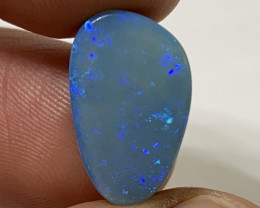 Rare Andamooka Electric Blue Pinfire Opal