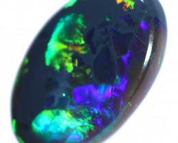 1.05 CTS BLACK OPAL STONE-FROM LIGHTNING RIDGE - [LRO1891]