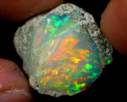 8cts Natural Ethiopian Welo Rough Opal / WR6771
