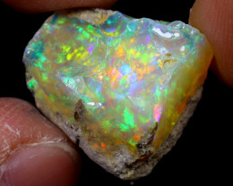 12cts Natural Ethiopian Welo Rough Opal / WR6777
