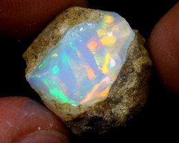 10cts Natural Ethiopian Welo Rough Opal / WR6793