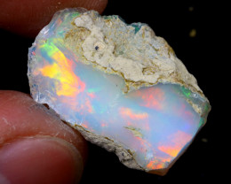 8cts Natural Ethiopian Welo Rough Opal / WR6822