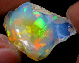 13cts Natural Ethiopian Welo Rough Opal / WR6829