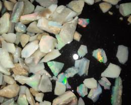 110 Cts Premium Mintabie Opal Chips