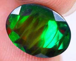 2.00cts Natural Ethiopian Welo Faceted Smoked Opal / HM2268