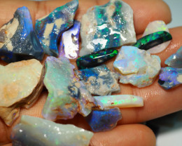 470CT QUALITY OPAL ROUGH PARCEL FROM LIGHTNING RIDGE BJ543