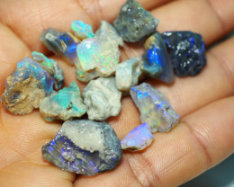 1030CT QUALITY OPAL ROUGH PARCEL FROM LIGHTNING RIDGE BJ545