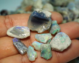 840CT QUALITY OPAL ROUGH PARCEL FROM LIGHTNING RIDGE BJ546