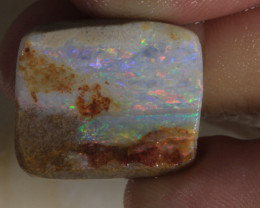 NO RESERVE!! #5 Painted Lady- Andamooka Rough Opal [32157] 53FROGS