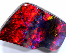 16.41 CTS QUALITY  RED WINE BOULDER OPAL STONE  INV-2177investmentopals
