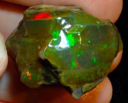 120ct Ethiopian Crystal Rough Opal Specimen