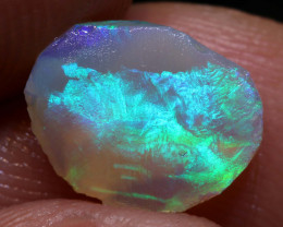 1.45CTS  LIGHTNING RIDGE DARK OPAL RUB  DT-A4543