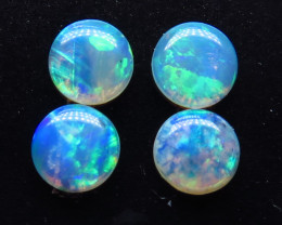 0.60ct 4 / 4mm Crystal / Precious South Australian Opal