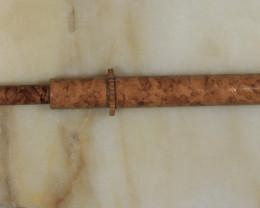 Brass Opal Grabber - Brown [32223]