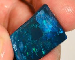 Big N2 Black Opal Rub - Stunning Blue Green Pattern