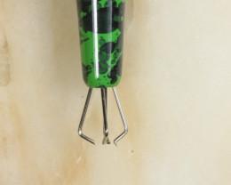 Brass Opal Grabber -Green [32281]