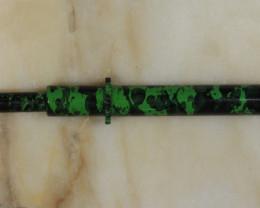 Brass Opal Grabber -Green [32284]
