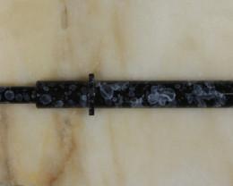 Brass Opal Grabber - Black and White [32302]