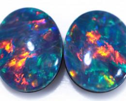 Gem Opal Triplet Pair 10x8mm  Code CCC1977