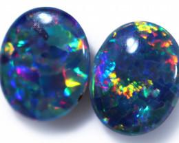 Gem Opal Triplet Pair 10x8mm  Code CCC1981