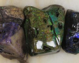 NO RESERVE!! #8  Andamooka Matrix Rough Opal [32347] 53FROGS