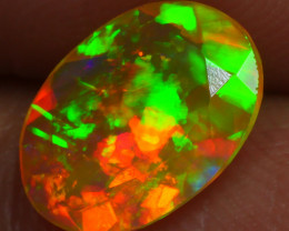 1.130 CRT BRILLIANT FACETED BEAUTIFUL PERFECT FULL PLAY COLOR  WELO-