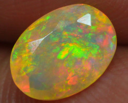 0.760 CRT BRILLIANT FACETED BEAUTIFUL PERFECT FULL PLAY COLOR  WELO-