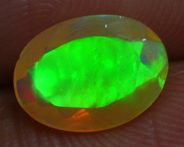 1.000 CRT BRILLIANT FACETED BEAUTIFUL PERFECT FULL PLAY COLOR  WELO-