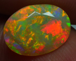 1.650 CRT BRILLIANT FACETED BEAUTIFUL PERFECT FULL PLAY COLOR  WELO-