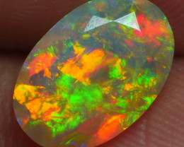 1.180 CRT BRILLIANT FACETED BEAUTIFUL PERFECT FULL PLAY COLOR  WELO-