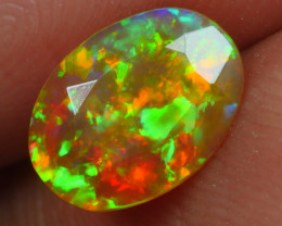 0.825 CRT BRILLIANT FACETED BEAUTIFUL PERFECT FULL PLAY COLOR  WELO-