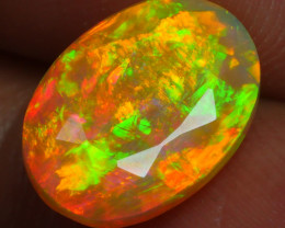 2.330 CRT BRILLIANT FACETED BEAUTIFUL PERFECT FULL PLAY COLOR  WELO-