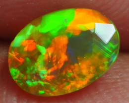 0.690 CRT BRILLIANT FACETED BEAUTIFUL PERFECT FULL PLAY COLOR  WELO-