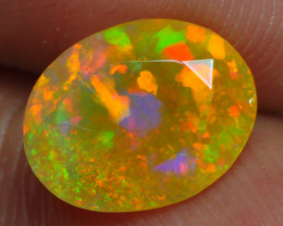 1.580 CRT BRILLIANT FACETED BEAUTIFUL MICRO PLAY COLOR  WELO-
