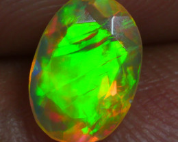 0.750 CRT BRILLIANT FACETED BEAUTIFUL PERFECT FULL PLAY COLOR  WELO-