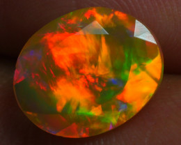 1.754 CRT BRILLIANT FACETED BEAUTIFUL PERFECT FULL PLAY COLOR  WELO-
