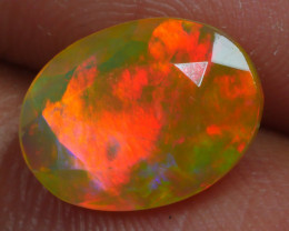 1.845 CRT BRILLIANT FACETED BEAUTIFUL PERFECT FULL PLAY COLOR  WELO-