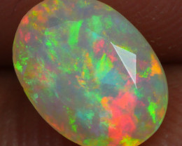 1.120 CRT BRILLIANT FACETED BEAUTIFUL PERFECT FULL PLAY COLOR  WELO-