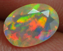 0.705 CRT BRILLIANT FACETED BEAUTIFUL PERFECT FULL PLAY COLOR  WELO-