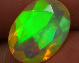 0.980 CRT BRILLIANT FACETED BEAUTIFUL PERFECT FULL PLAY COLOR  WELO-
