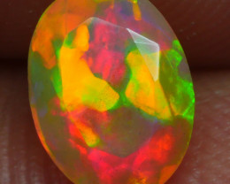 0.595 CRT BRILLIANT FACETED BEAUTIFUL PERFECT FULL PLAY COLOR  WELO-