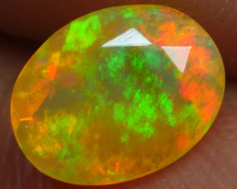 0.940 CRT BRILLIANT FACETED BEAUTIFUL PERFECT FULL PLAY COLOR  WELO-