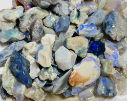 Lots of Bright Colours- 240 CTs High Potential Rough Opals#676
