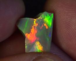 3.80 cts Ethiopian Welo CHAFF polished brilliant opal N6 5/5
