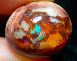 5.85ct Mexican Matrix Cantera Multicoloured Fire Opal