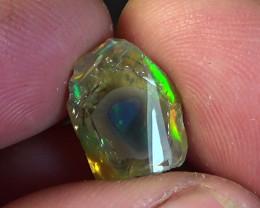 4.30 cts Ethiopian Welo polished crystal opal N9 3/5