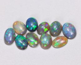 2.14 Cts Australian  Lightning Ridge Black & Semi black  Opals  CCC 2082