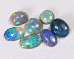 2.20 Cts Australian  Lightning Ridge Black & Semi black  Opals  CCC 2093