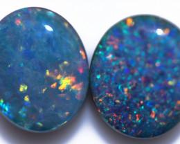 Gem Opal Triplet Pair 12x10mm   Code CCC 2528