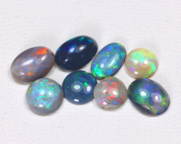 2.34Cts   Lightning Ridge Black & Semi black  Opals  CCC 2106